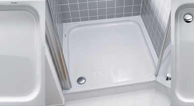 Duravit D-Code Shower Trays
