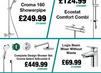 Hansgrohe offers